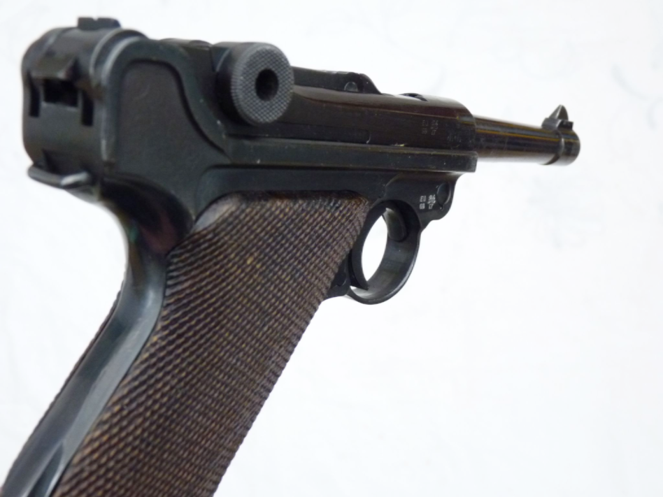 Deactivated Luger P08 pistol Mauser made 1942 dated all